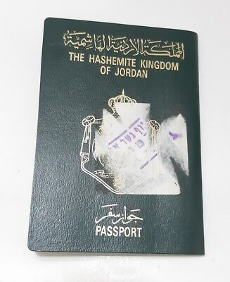 Jordan Collectible 1999 Passport Travel Document (invalid) Rare Vintage Old