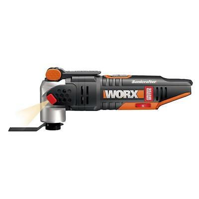Worx Powershare 20V Cordless Sonicrafter Multi Tool WX693.9 - BARE Rubber Grip