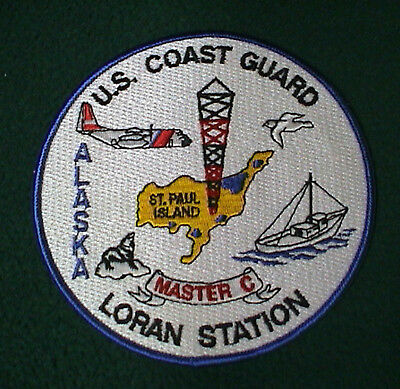 US Coast Guard Loran Station St. Paul Island, Alaska Patch
