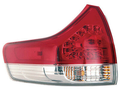 For Toyota Sienna Van Base Le Xle Limited 11 12 Tail Light W Bulb Driver