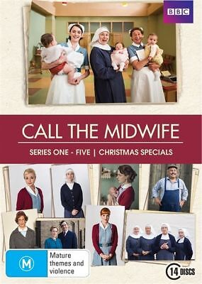 Call The Midwife : Series 1-5 (DVD, 2016, 14-Disc Set)