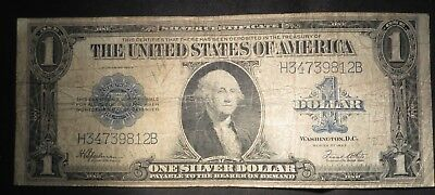 1923 One Dollar $1 Silver Certificate- G/VG