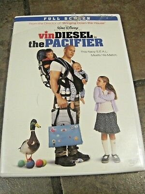 The Pacifier ~ Vin Diesel ~ Navy Seal Meets His Match!!   Euc