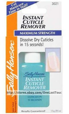 Sally Hansen* #3021 INSTANT CUTICLE REMOVER Maximum Strength DISSOLVES IN 15 Sec