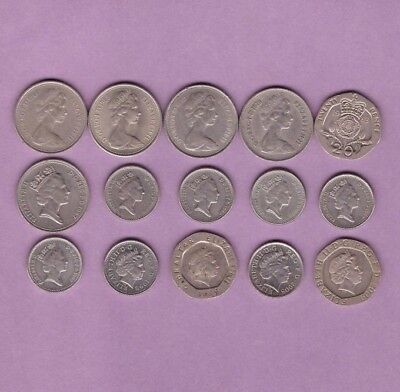 Great Britain - Mixed Coin Collection Lot - World/Foreign/Europe