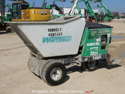 2011 Multiquip WBH-16F Ride On Self Propelled Concrete Buggy Whiteman Honda