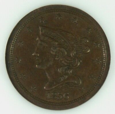 1856 1/2c Classic Head Half Cent - Old Holder