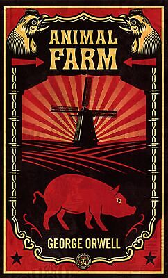 Animal Farm by George Orwell New Paperback Book Shepard Fairey IN STOCK NOW