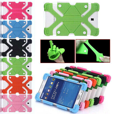 "AU For Telstra Enhanced 10.1"" / 7"" Tablet Kids Shockproof Silicone Cover Case"