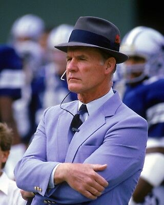 Tom Landry 8 x 10 / 8x10 GLOSSY Photo Picture IMAGE #2