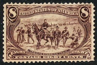 Dr Jim Stamps Us Scott 289 8C Trans Mississippi Used No Reserve Free Shipping