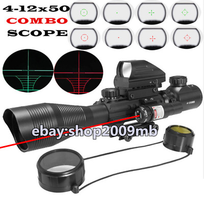 Illuminated Rangefinder Reticle Rifle Scope Holographic Reticle Sight Red Laser