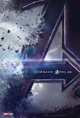 "1 Avengers 4 End Game Movie Poster Spider Man Print Thanos Marvel 12""x18"""