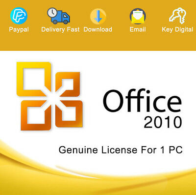 Office 2010 Professional Plus 32-64bit Download Digital Genuine