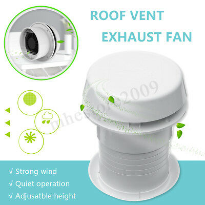 12V RV Motorhome Trailer Roof Vent Ventilation Cooling Exhaust Ceiling Fan