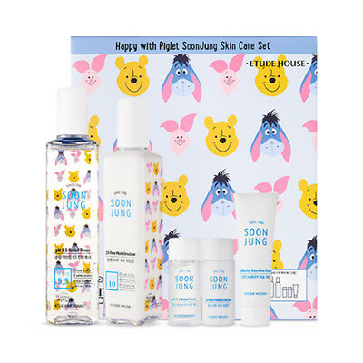 [ETUDE HOUSE] Happy With Piglet Soonjung Skin Care Set - 1pack (2items)
