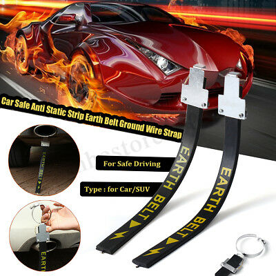 Car Safe Anti Static Strip Earth Belt Ground Wire Strap Vehicle Safe Driving