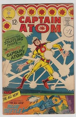 Captain Atom # 83  Fn+  1St Silver-Age Blue Beetle  Cents  1966  Movie Hot