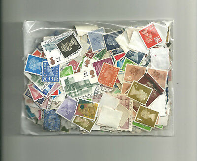 GB 13 grams mixed definitive  off paper   collection stamps