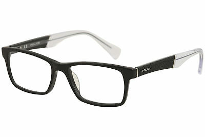 5d99e6d65fe9 Police Eyeglasses Close Up 2 V1919V V 1919V 700X Shiny Black Optical Frame  53mm
