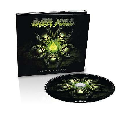 OVERKILL 'THE WINGS OF WAR' Ltd Edition Digipack CD (22nd February 2019)