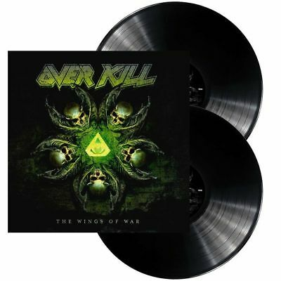 OVERKILL 'THE WINGS OF WAR' Double VINYL LP (22nd February 2019)