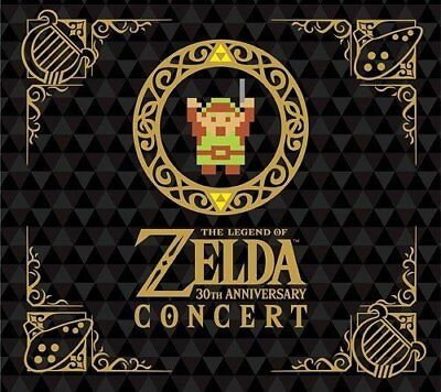 The Legend of Zelda 30th Anniversary Concert Limited Edition 2 CD + From japan