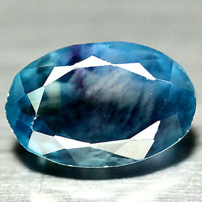 8.95 Ct Natural Blue Fluorite China Oval