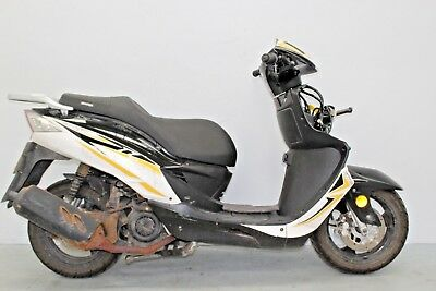 2017 Sinnis Shuttle 125 Damaged Spares Or Repair **no Reserve** (17453)