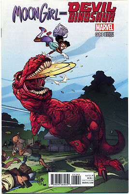 Moon Girl Devil Dinosaur #13 Ferry Variant Nm First Print Bagged And Boarded