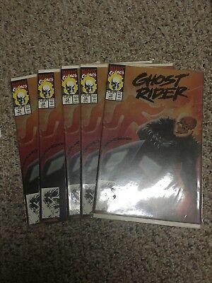 Ghost Rider  # 13 Lot Of 5 (1991)
