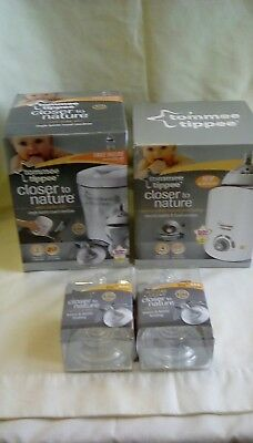 1032 Tommee Tippee - Sterlizer, Bottle Warmer and Teats Brand New