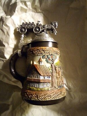 UNIQUE Armin Bay limited ED. German Handpainted beer Stein