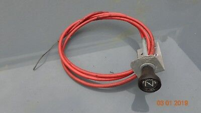 Ford Capri kit car carb manual choke cable Cortina Anglia Mini Vauxhall Triumph
