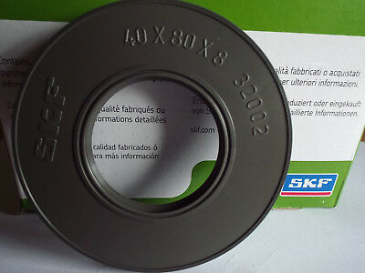 40x80x8mm SKF Oil Seal Shaft Double Lip R23/TC 40x80x8 HMSA10RG