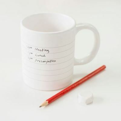 Notepad Mug - Write your own messages!