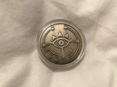 Legend of Zelda Breath of the Wild Sheikah Coin Limited Edition Switch Wii U