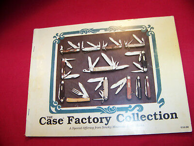 Vintage Original Case Cutlery Factory Manufacturers Knife Collection Book 1990