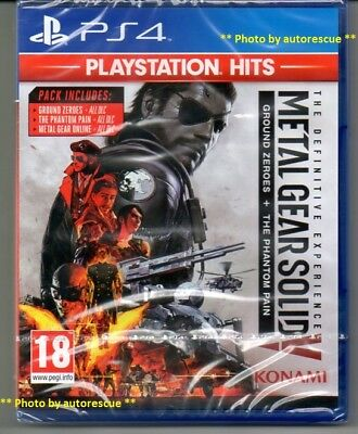Metal Gear Solid V (5) The Definitive Experience  'New' *PS4(Four)*