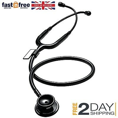 Stethoscope Professional 3M Littmann Eartips Classic II Medical Use  MDF Black