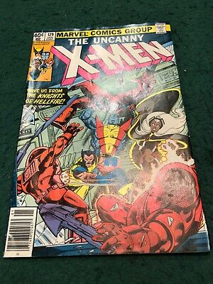 x-men 129, Marvel 1980.  Very nice copy