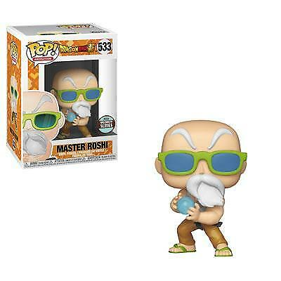 In-Hand Funko POP Animation Dragonball Super Master Roshi Max Power Exclusive