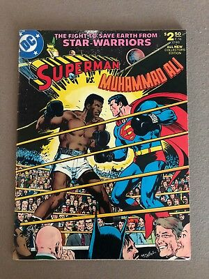 Superman vs. Muhamed Ali Treasury Edition - The Very Large Format -  (1978, DC)