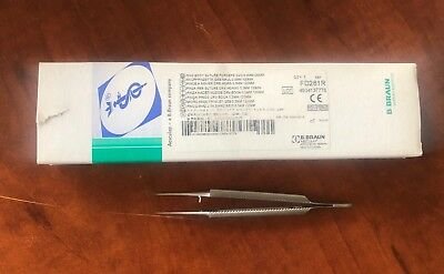 Aesculap Round Body Suture Forcep Ref. FD281R