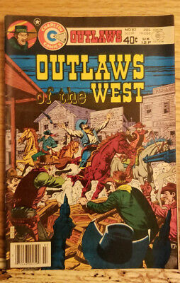 Charlton Comics #82 Outlaws of the West Jul/1979