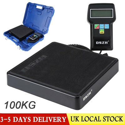 Heavy Duty Refrigerant Charging Scale 100kg Capacity With Carrying Case