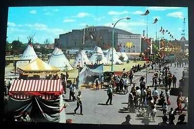 1973 Indian Village, Stampede Coral, Calgary Stampede Grounds, Canada