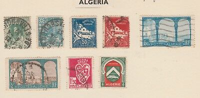 ALGERIA Collection, EARLY ISSUES, etc as per scan USED & MINT  #
