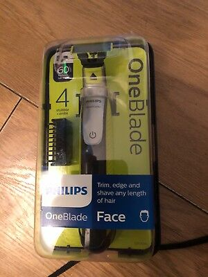 Philips Oneblade Electric Trimmer Styler Shaver 4X Combs Wet And Dry Qp2530/25*