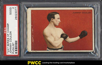 1912 T227 Series Of Champions Boxing Johnny Coulon PSA 2 GD (PWCC)